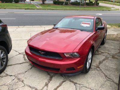 2012 Forrd Mustang